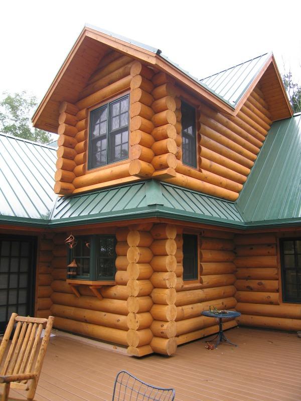Log Home Custom Windows