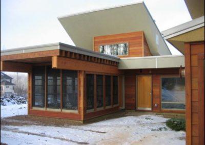 Contemporary All Season Porch