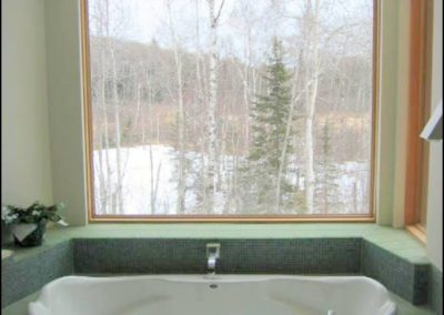 Modern North Woods Bathroom
