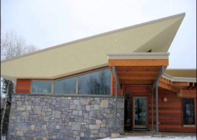 Contemporary Front Entrance