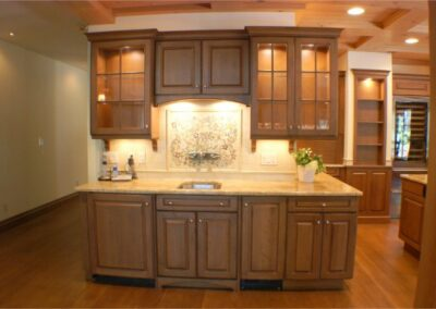 Custom Luxury Kitchen Buffet