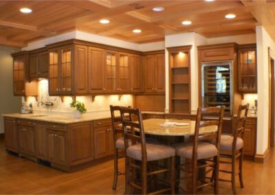 Luxury Kitchen Detail Cabinets