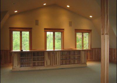 Luxury Log Home Custom Bar