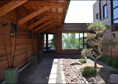 Nordic Zen Covered Walkway