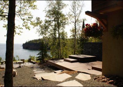 Nordic Zen Deck Lake