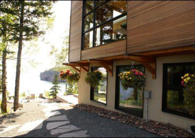 Nordic Zen Outdoor Pathway
