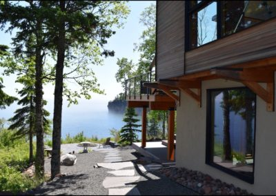 Nordic Zen Walkway Lake