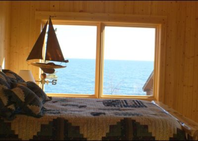 North Shore Log Home Bedroom3