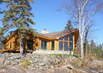 North Shore Log Home Nature