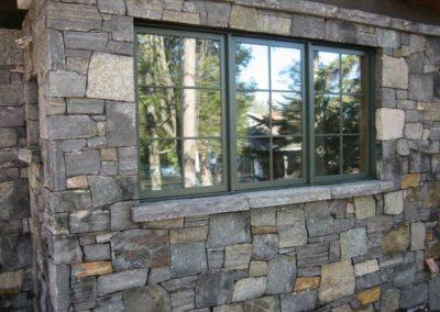 Rustic Craftsman Brick Window