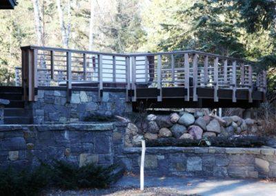 Rustic Craftsman Deck