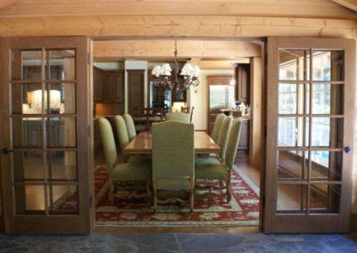 Rustic Craftsman Dining Room