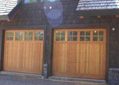 Rustic Craftsman Garage