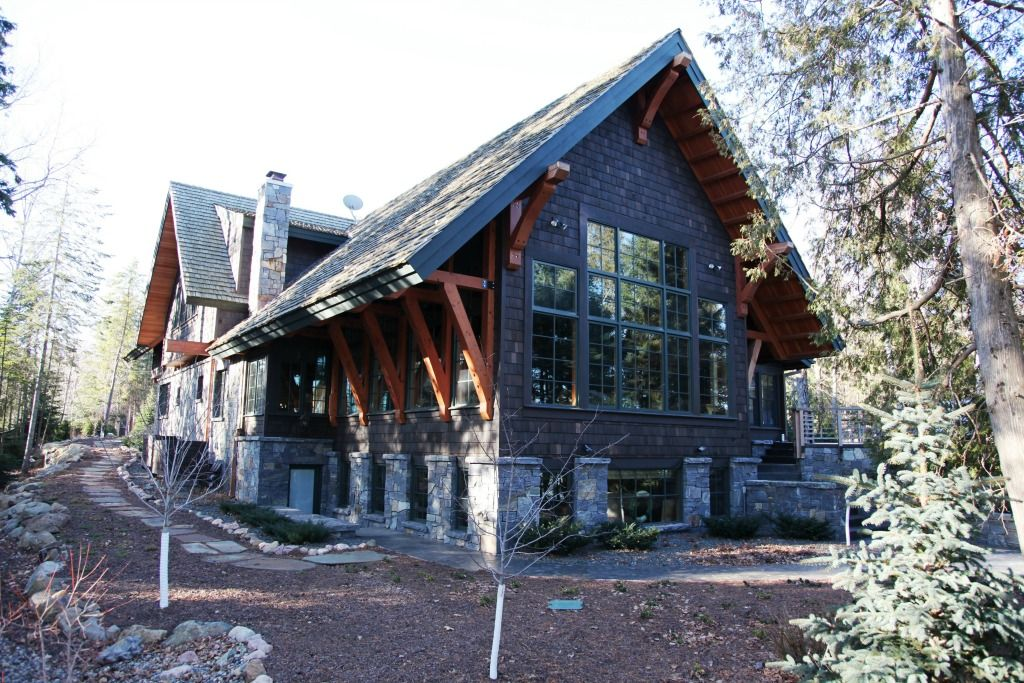 Rustic Craftsman House Exterior Contractor Superior