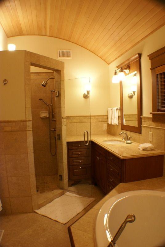 Rustic Craftsman Master Bath