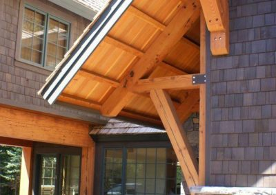 Rustic Craftsman Roof
