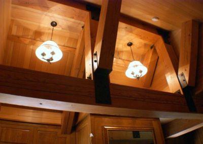 Rustic Craftsman Timber Beams
