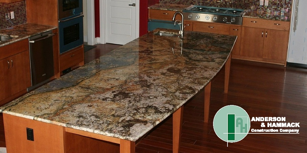 Choosing The Right Countertop Material   Anderson Hammack Construction
