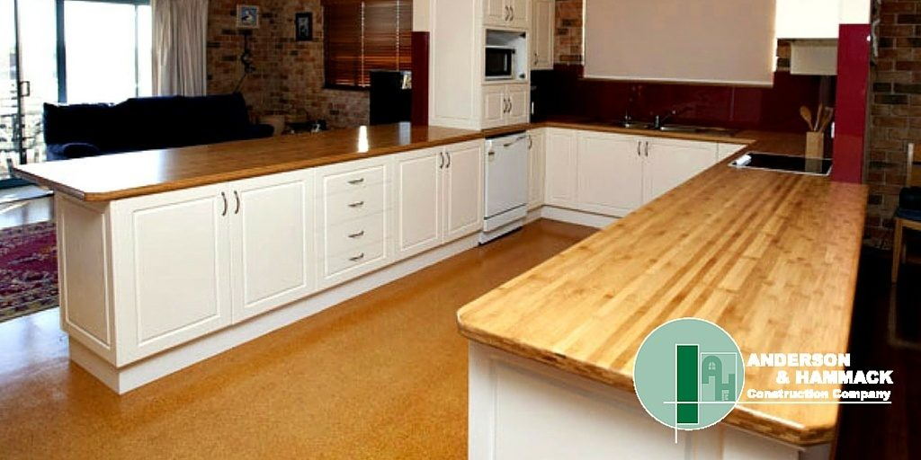 Countertop Material Weight : ... Choosing The Right Countertop Material - Anderson Hammack Construction