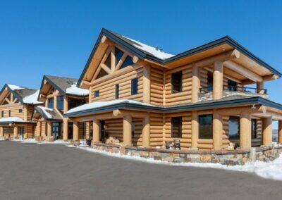 Timber Frame Lodge Resort