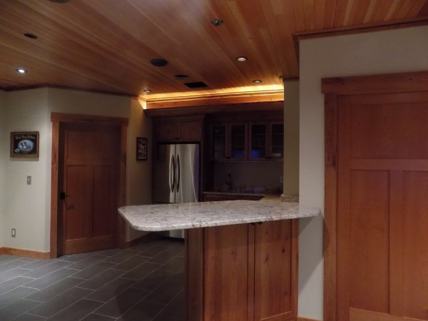 Basement Addition Kitchen