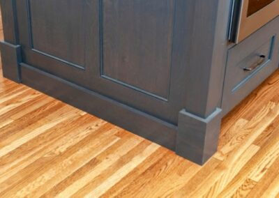 Craftsmen Details Kitchen Island