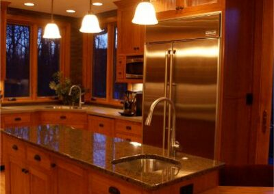 Custom Cherry Kitchen