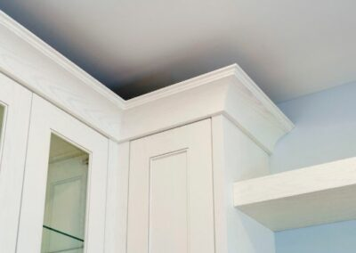 Custom Kitchen Cabinet Detail Corners