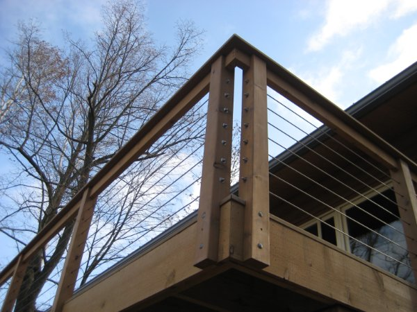Deck Corner Detail