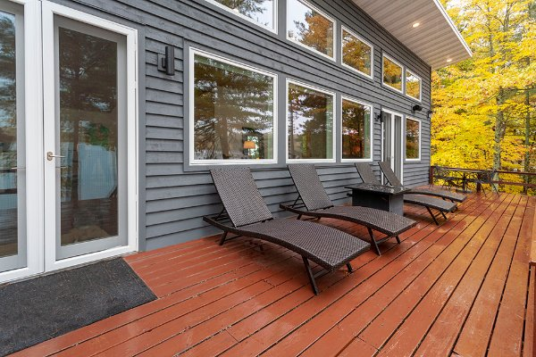 Deck With Sliding Door Remodel