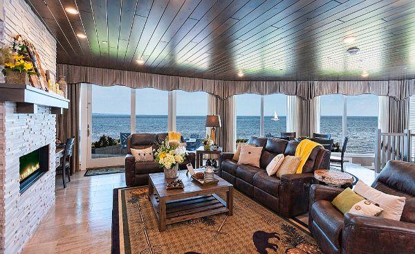 Living Room Windows Lake Superior