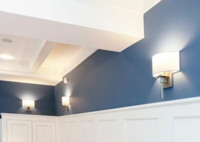 Modern living room - wall sconce lights