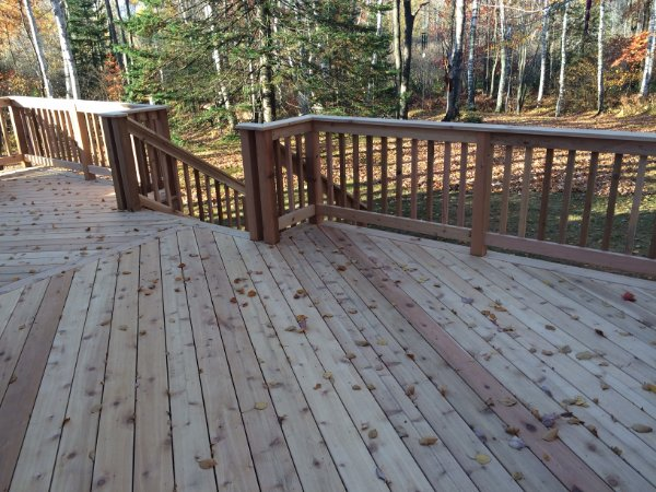 New Cedar Deck Project