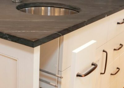 Soapstone Countertop With Stainless Sink