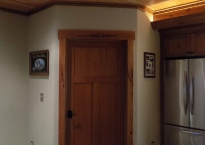 Wood Detail For Doors Ceiling Basement